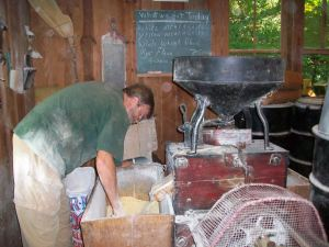 Visit to Hambidge's grist mill