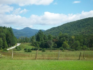 Rabun Gap, home of Hambidge, in the north Georgia mountains